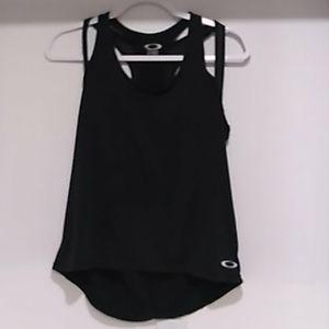 Oakley• women's black double shoulder straps tank